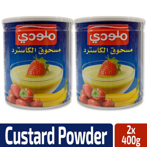 Melody Custard Powder 2x400g