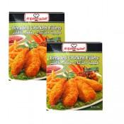 Al Kabeer Breaded Chicken Fillet 2x450 g
