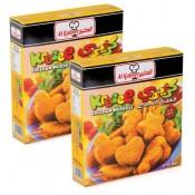 Al Kabeer Krazee Chicken Nuggets 2x400 g