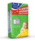 Fine Baby Diaper No. 2 40 PC