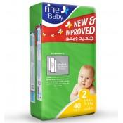 Fine Baby Diaper No. 2 40 PC