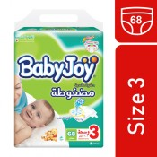 Babyjoy Compressed No.3 68 diapers