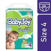 BabyJoy Compressed No.4  60 Daiper