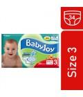 BabyJoy Compressed No.3 34 Diaper