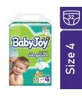 BabyJoy Compressed No.4 32 Diaper