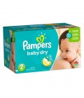 Pampers Baby-dry Box No.2 138 Diapers