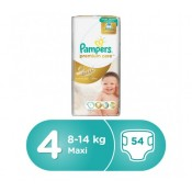 Pampers Premium Care No.4 54 Diapers 15% OFF