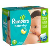 Pampers Baby Dry Box No.2 138 Daipers