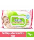 BabyJoy Wet Wipes 76 Wipes