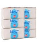 Johnsons Baby Bar Soap 6x125 g