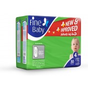 Fine Baby Diaper Large No.4  30 PC
