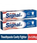 Signal Toothpaste Cavity Fighter 2x120 ml