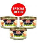 Alali Pro.White Meat Tuna in Olive Oil 3x170g