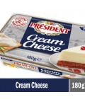 President Cream Cheese 180 g