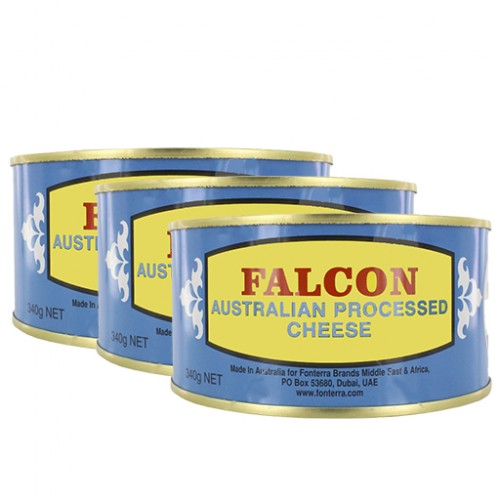 Falcon Processed Cheese 3x340 g