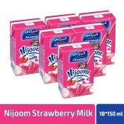 AlMarai Nijoom Strawberry Milk 18x 150 ml