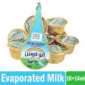 Rainbow Evaporated Milk 10x14 ml