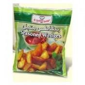 Al Kabeer Seasoned Wedges 750 g