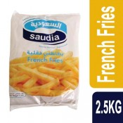 Saudia French Fries 2.5 KG
