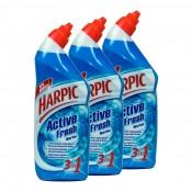 Harpric Toilet Cleaner 3x750 ml