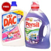Persil Gel Lavender 3 Ltr+Dac Rose 3 Ltr Free