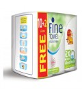 Fine Towel 2X More Absorbent 10+2 Free
