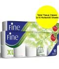 Fine Toilet Tissue Classic 2x10 Rollsx400 Sheets