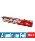 Diamond Aluminum Foil 75 SQ.Ft