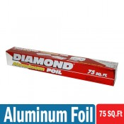Diamond Aluminum Foil 75 SQ.Ft