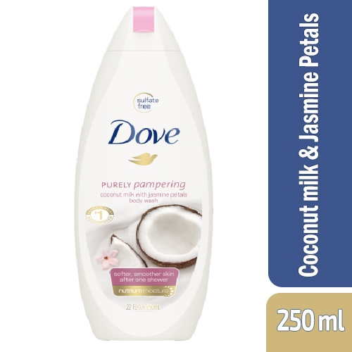 Dove Body Wash Purely Pampering Coconut Milk 250 Ml