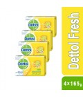 Dettol Fresh Bar Soap 4×165g