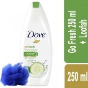 Dove Go Fresh 250 ml +Loofah