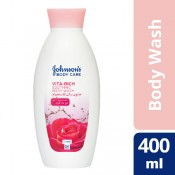 Johnson's Body Wash With Rose Water 400 ml