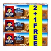 Quaker Oat Cookies With Chocolate Chips 3Packsx126 g