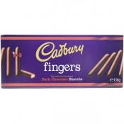 Cadbury Dark Chocolate Fingers Biscuits 138 g