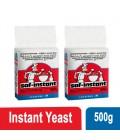 Saf Instant Dry Yeast 2x500 g