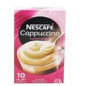 Nescafe Cappuccino Sweetened 10x18 g