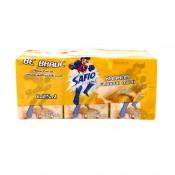 Safio UHT Banana Milk 6x125ml