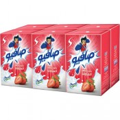 Safio UHT Strawberry Milk 6x125ml