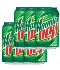 Mountain Dew Can 6x330 ml