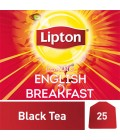 Lipton Flavoured Black Tea Bags English Breakfast  25 Piece