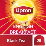 Lipton Flavoured Black Tea Bags English Breakfast  25 Piece