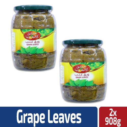 California Garden Grape Leaves 2x908g