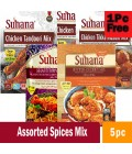 Suhana Assorted  Spices Mix 5 pc