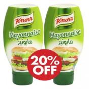 Knorr Mayonnaise 2x295 ml