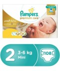 Pampers Premium Care Box No. 2 108 Diapers